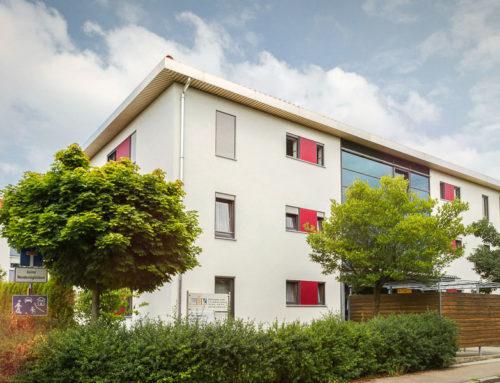 Zwei 9-Familienhäuser der WBL GmbH in Stadtbergen